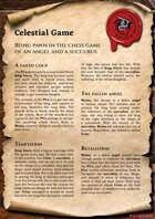 Scrolls of Adventures: Adventure Plot - Celestial Game