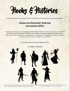 Hooks & Histories: Character Backstory Starters for Fantasy RPGs
