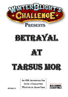 Betrayal At Tarsus Mor