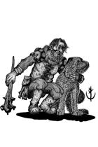 HOUNDMASTER (ranger)- Stock art