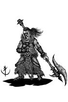 HELLION (barbarian)- Stock art