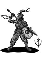 SHIELDBREAKER (fighter)- Stock art
