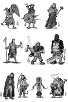 ADVENTURERS PACK - Stock art
