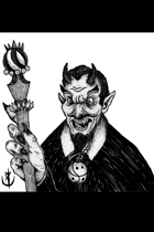 ASMODEUS DEMON - Stock art