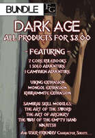 DA009 All 'Dark Age' Products for $8.00 [BUNDLE]