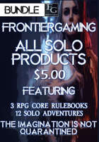ASFG004 All Solo FrontierGaming Products - $5.00 [BUNDLE]