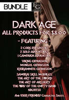 DA010 All 'Dark Age' Products for $8.00 [BUNDLE]