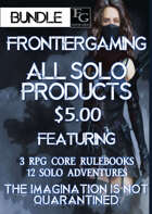 ASFG005 All Solo FrontierGaming Products [BUNDLE]