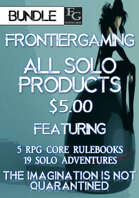 ASFG006 All Solo FrontierGaming Products [BUNDLE]