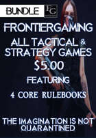 ATG001 All FrontierGaming Tactical and Strategy Games [BUNDLE]