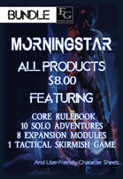 MTTP011 All Morningstar Products $8.00 [BUNDLE]