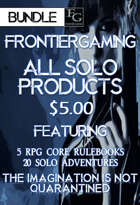 ASFG008 All Solo FrontierGaming Products [BUNDLE]