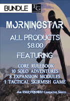 MTTP013 All Morningstar Products $8.00 [BUNDLE] , from $59.31 to $7.99 at DriveThruRPG