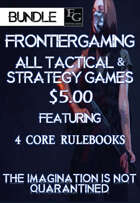 ATG002 All FrontierGaming Tactical and Strategy Games [BUNDLE]