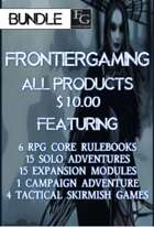 AFG026 All FrontierGaming Products [BUNDLE] , from $177.25 to $9.98 at DriveThruRPG