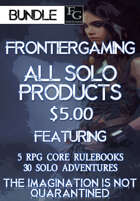 ASFG016 All Solo FrontierGaming Products [BUNDLE]