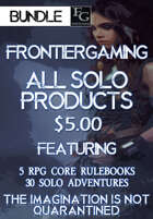 ASFG019 All Solo FrontierGaming Products [BUNDLE]