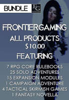 AFG041 All FrontierGaming Products [BUNDLE]