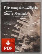 Faits Marquants de l'Histoire : la Seconde Guerre Mondiale