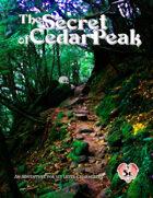 The Secret of Cedar Peak