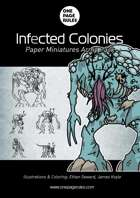 Infected Colonies Army Pack - Paper Miniatures