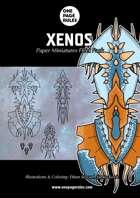 Xenos Fleet Pack - Paper Miniatures