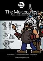 The Mercenaries Gang Pack - Paper Miniatures