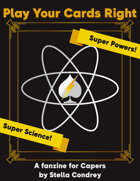 Play Your Cards Right Super Powers Super Science