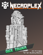 Necroplex Dice Tower