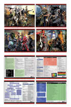 GMD CORE RPG - GM Screen Inserts/Player Reference Cards