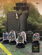 Hearty Halflings Pawn One-sheets, Set No. 1