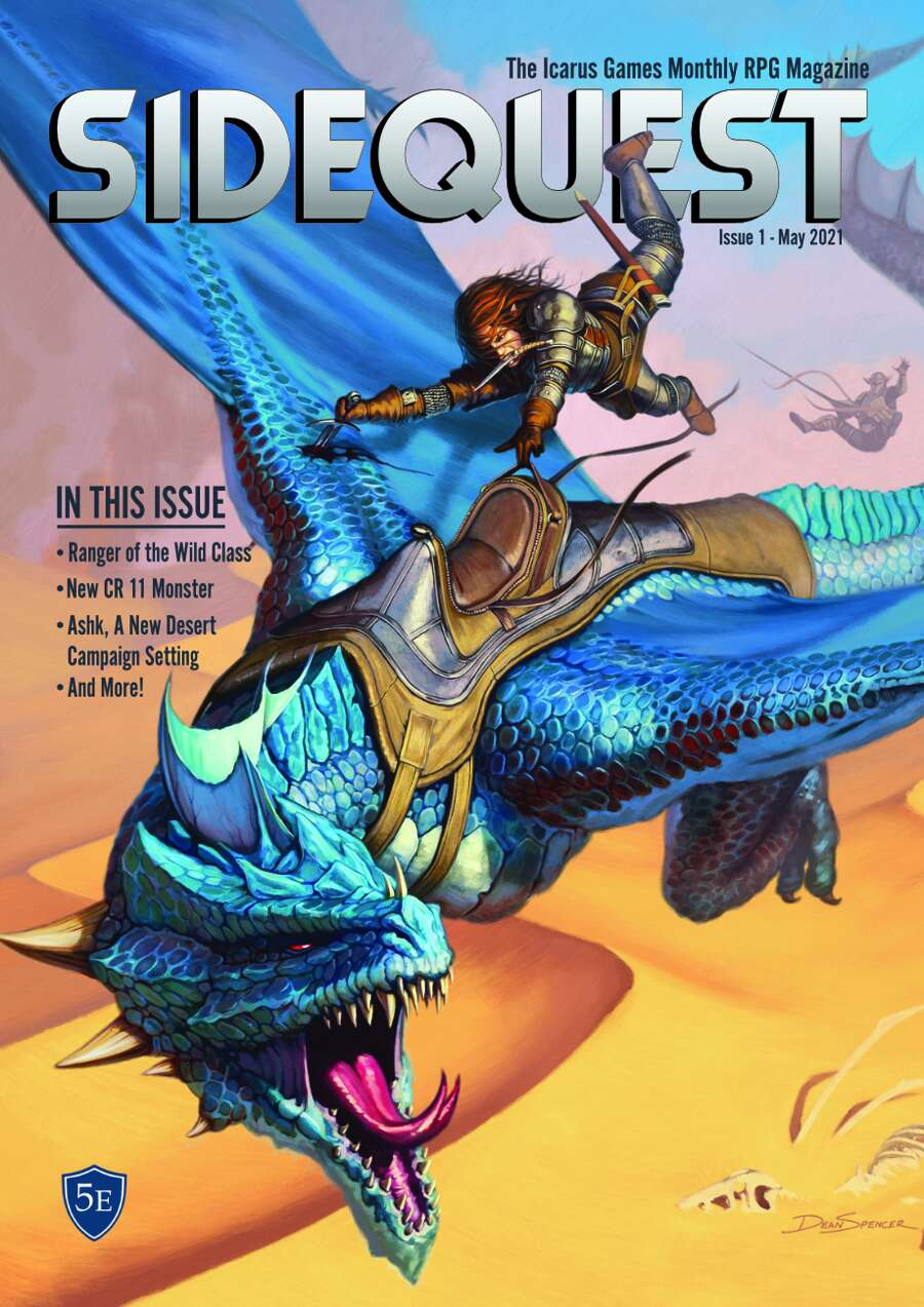 SIDEQUEST Issue 1 May 2021