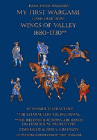 Wings of Valley 1680-1730. 15mm paper soldiers.