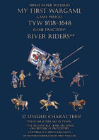 River Riders 1600-1650. Small set.