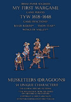 Protest League. Musketeers (dragoons) 1600-1650.