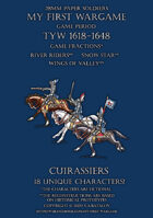 Protest League. Heavy cavalry. Cuirassiers 1600-1650.