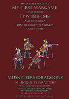 Loyal Alliance. Musketeers (dragoons) 1600-1650.