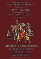 ECW Loyal Alliance. Musketeers (dragoons) 1640-1660.