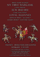 Loyal Alliance. ECW 1642-1651. [BUNDLE]
