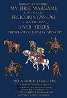 River Riders. French-style cavalry add-on 1755-1763.