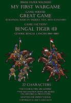 Bengal Tiger (part II). Generic Bengal lancers 1864-1880.
