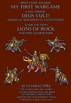 Lions of Rock. Generic Medieval warriors 12-13c.