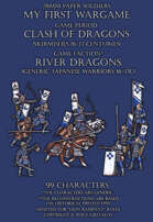 River Dragons. Generic Japanese warriors 16-17c.