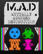 M.A.D - Mutually Assured Destruction (Rulebook)