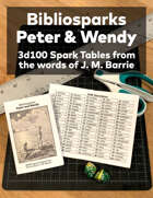 Bibliosparks: Peter & Wendy by J. M. Barrie