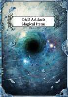 To Destroy a Storm - Magical Items