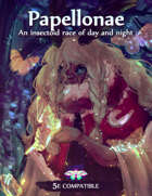 Papellonae - An Insectoid Race of Day and Night (5e)