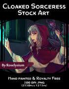 Female Sorcerer- Stock Art