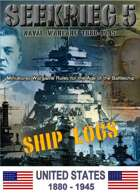 SEEKRIEG 5 Ship Logs - United States 1880-1945