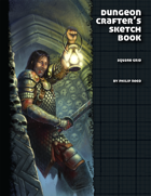 Dungeon Crafter's Sketch Book (Square Edition)
